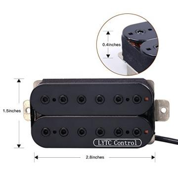 HP5 Double-conductor Wire Electric Guitar Humbucker Pickup for Gibson Les Paul Replacement (Neck)