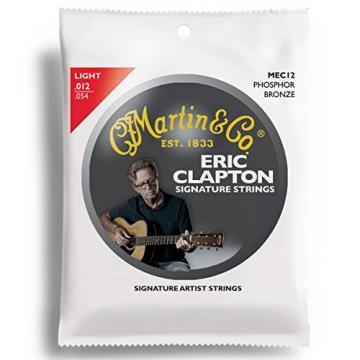 Martin guitar martin MEC12 martin acoustic guitar Clapton's martin acoustic guitar strings Choice acoustic guitar strings martin Phosphor martin guitar case Bronze Acoustic Guitar Strings, Light
