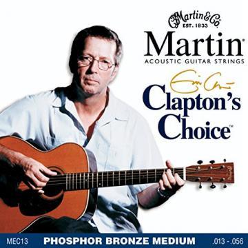 Martin martin guitar accessories MEC13 martin guitar strings acoustic Clapton's martin acoustic strings Choice guitar martin Phosphor martin acoustic guitars Bronze Acoustic Guitar Strings, Medium