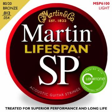Martin martin acoustic strings MSP6100 martin guitars SP acoustic guitar strings martin Lifespan guitar martin 80/20 martin strings acoustic Bronze Light Acoustic Guitar Strings