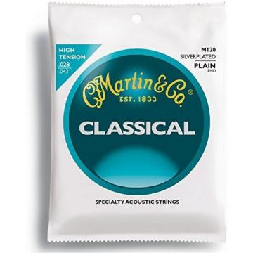 Martin martin guitar strings M120 martin guitar accessories Silverplated martin strings acoustic Classical guitar martin Guitar martin guitar Strings, High Tension