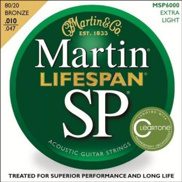 Martin martin guitars acoustic MSP6000 martin acoustic strings SP martin acoustic guitars Lifespan martin acoustic guitar 80/20 acoustic guitar strings martin Bronze Acoustic String, Extra Light