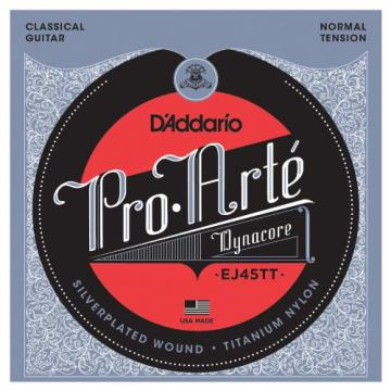 D'Addario martin guitar accessories EJ45TT martin acoustic guitar ProArte martin guitars DynaCore martin guitars acoustic Classical martin acoustic guitars Guitar Strings, Titanium Trebles, Normal Tension