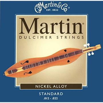 Mountain martin guitar accessories Dulcimer martin acoustic guitar String martin guitar case Set, martin acoustic guitar strings Martin martin guitars acoustic Standard Gauge (.012, .012, .012, .022 Nickel Wound)