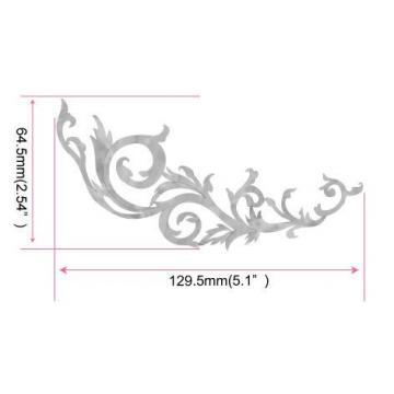 Inlay martin guitars Sticker martin acoustic guitar strings Decals martin acoustic guitar for martin guitar Guitar martin guitar strings Bass - L&R Set Gothic Line -WS