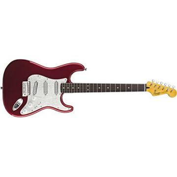 Squier by Fender Vintage Modified Surf Stratocaster Electric Guitar - Candy Apple Red - Rosewood Fingerboard