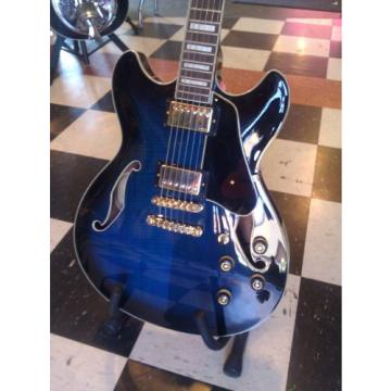 Ibanez AS93BLS Artcore Semi Hollow Body Guitar Super 58 pickups, Very Nice Guitar!