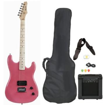 Pink martin acoustic guitars Full guitar strings martin Size guitar martin Electric martin guitar Guitar martin acoustic guitar strings with Amp Case Strap Cord Picks Pack Beginner Starter Package