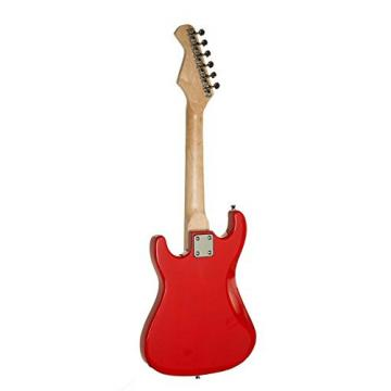 """31"""" martin acoustic guitars Kids martin d45 Child martin acoustic guitar Mini martin guitar strings acoustic ST guitar strings martin EP5 Starter Electric Guitar Package with 5 Watt Amp, Gig Bag, Strap, Cable and Picks by Raptor (Red)"""