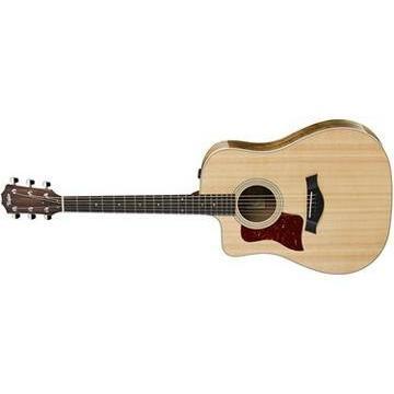 Taylor 210ce-K-DLX Koa Deluxe Left-Handed Dreadnought Acoustic-Electric Guitar