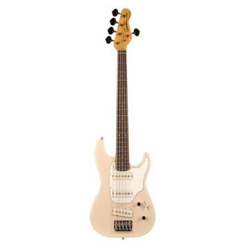 Godin Shifter Series 034550 5-Strings Bass Guitar, Trans Cream HG RN