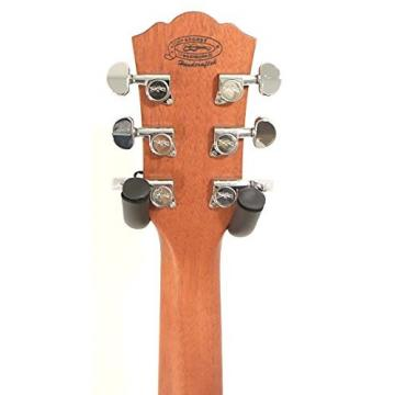 Washburn WCSD40SK Woodcraft Series Acoustic Guitar w/Hard case plus More