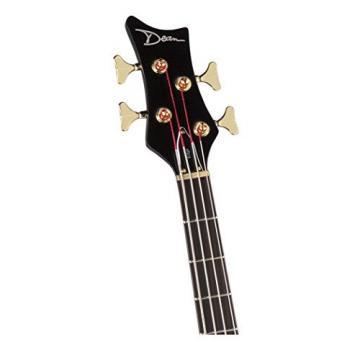 Dean EP TBK Edge Pro Bass Guitar, Trans Black