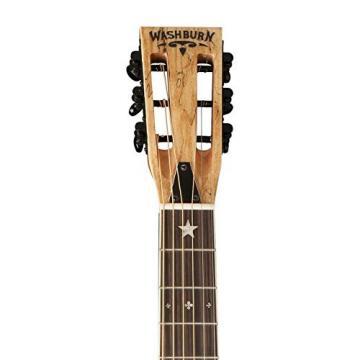 Washburn Vintage Style Parlor Resonator Guitar - R360SMK