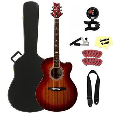 c64b367487f Buy PRS Angelus A10E Cherry Sunburst Acoustic Electric Guitar with  Accessory Kit and PRS Hard Case - Guitar Solo Shop
