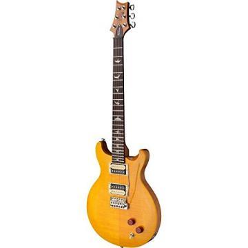 PRS CS4SY SE Santana Electric Guitar (Santana Yellow) w/ Gig Bag, Locking Stand, Tuner, and Lock-it Strap