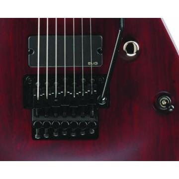 Schecter Jeff Loomis-7 FR 7-String Electric Guitar (Vampyre Red Satin)