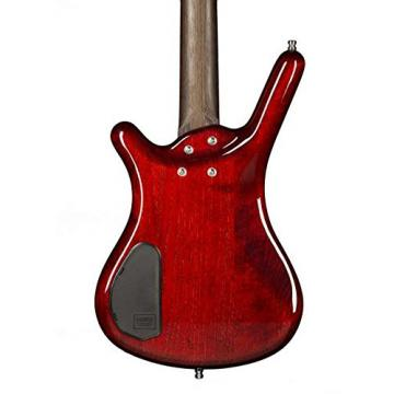 Warwick Custom Shop Corvette $$ Bass, Burgundy Red High Polish, AAAAA Flame, Fretboard LEDs