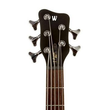 Warwick German Pro Series Corvette Ash, Passive, 5-String, Nirvana Black OFC