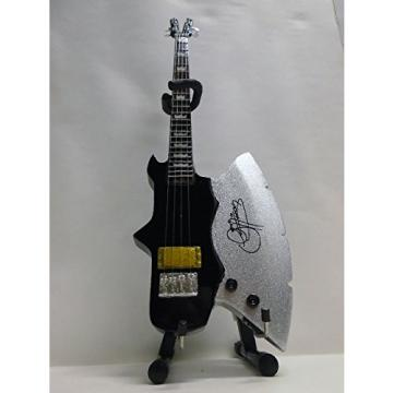 Axe Heaven Gene Simmons Signature Classic Axe Miniature Bass Guitar Replica