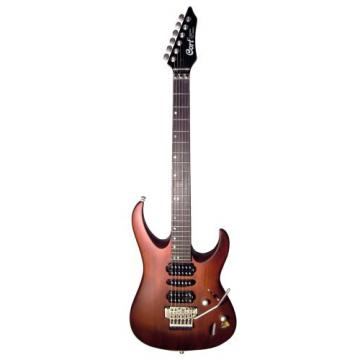 Cort Viva Gold II-WS Solid Body Electric Guitar, Walnut Stain Finish