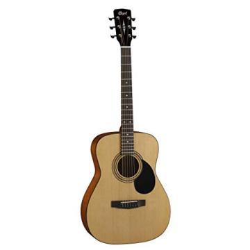 Cort AF510OP Standard Concert Body Acoustic Guitar Spruce Top, Natural Open Pore