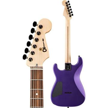 Charvel USA Select San Dimas HSS Hardtail Rosewood Fingerboard Electric Guitar Satin Plum