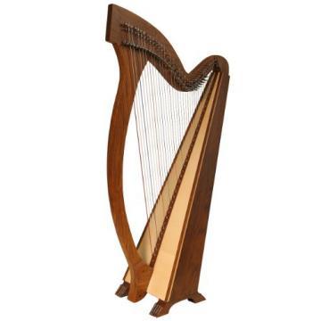 Roosebeck Meghan Harp TM, 36 Strings, Natural
