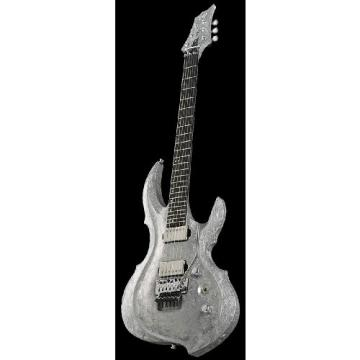 ESP Original Series Solid-Body Electric Guitar, Liquid Metal Silver (EFRXLMS)
