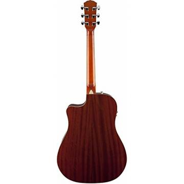 Fender T-Bucket 300-CE A/E Guitar Amber Quilt Cutaway V2 w/Gig Bag Plus More