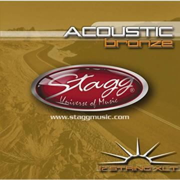 Stagg AC-12ST-BR 12 String Acoustic Guitar Strings, Extra Light