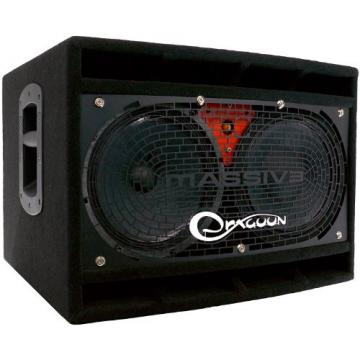 DRAGOONDM4210 450W 4-16 Ohm Switchable Handcrafted High Performance 2x10 Inches Bass Speaker Cabinet