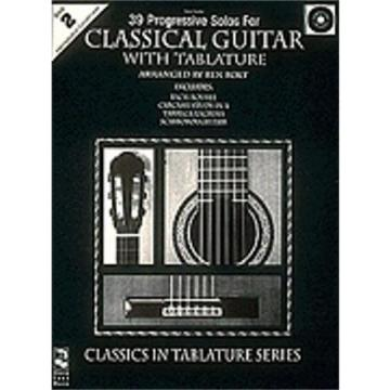 Hal Leonard n 39 Progressive Solos for Classical Guitar Book & CD ---Book 2