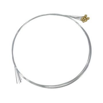 Plain Steel Strings, Ball Ends, Pack Of Twelve, .008