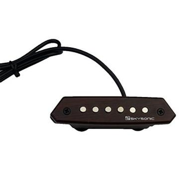 Skysonic Passive Acoustic Guitar Soundhole Pickup Humbucker A-810,Clear Soundwith Tone and Volume Control