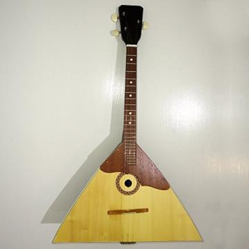 Brand New Classic Original Russian Balalaika 3 Strings Prima. High Quality! Natural Wood! 389