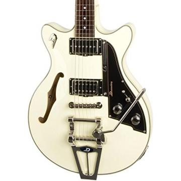 Duesenberg USA Starplayer TV Fullerton Series Semi-Hollow Electric Guitar Vintage White