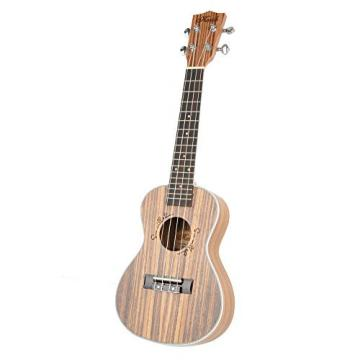 "Olymstore(TM) 23"" Exquisite Zebra Wood Concert Ukulele Uke Hawaii Guitar"
