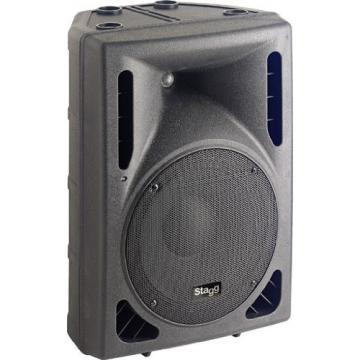 Stagg SMS12 250-Watt Speaker with 12-Inch Woofer & Compression Horn Tweeter - Black