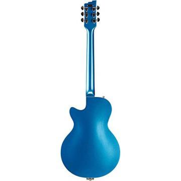 Duesenberg USA Starplayer TV Mike Campbell Semi-Hollow Electric Guitar Blue Metallic