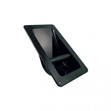 Handle - for Cabinet Side, Genuine Marshall, Recessed Plastic