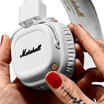 Marshall 04091794 Major II Bluetooth On-Ear Headphone, White