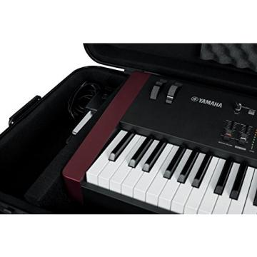 Gator Cases GTSA-KEY88SL 88 Note Slim Workstation, Synth, or Keyboard Case