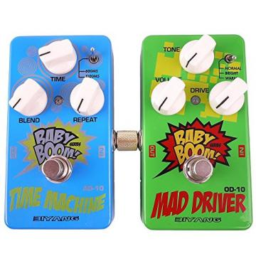 Mr. Power 1/4 Inch Guitar Effect Pedal to Pedal Coulper Connector(4 Pack)