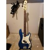 Custom Fender 92' Precision Bass P-Bass 1992 Blue