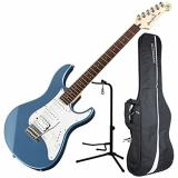 Yamaha PAC112J Pacifica HSS Double Cutaway Electric Guitar with Tremolo - Lake Blue