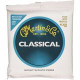 Martin martin guitars acoustic M220 acoustic guitar martin 80/20 martin acoustic strings Bronze martin guitar accessories Plain martin acoustic guitar End Classical Guitar Strings, Regular Tension