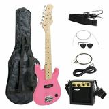 "Zeny martin guitar strings 30"" martin Kids martin d45 Pink martin acoustic guitar Electric martin acoustic guitars Guitar with Amp & Much More Guitar Combo Accessory Kit"