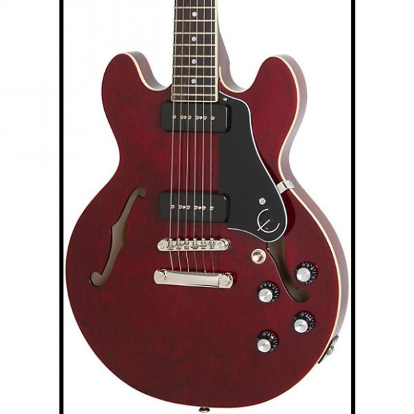 Custom Epiphone  ES-339 P90 PRO Semi-Hollowbody Electric Guitar   2017 Wine Red #1 image