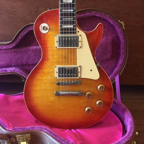 Custom 1980 Greco EGF-850 'Les Paul Standard Lawsuit' (Heritage Cherry Burst) #1 image